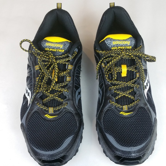 6ef1c7b9d6f8 Men s Saucony Grid Eclipse TR 3 Running Shoes 14. M 5bf9887e9539f76a152372b0